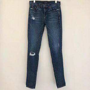 J BRAND denim skinny jeans